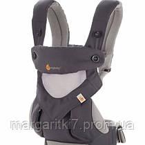 Ergobaby Эрго рюкзак Ergo baby 360 Carbon Grey Cool Air – Four Position