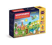 Магнитный конструктор Мой первый набор, 100 элемента, серия Для самых маленьких, Magformers