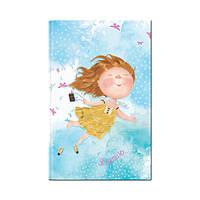 """Книга записная GAPCHINSKA """"Я летаю"""" A5-, картонная обложка, 96 листов, точка"""