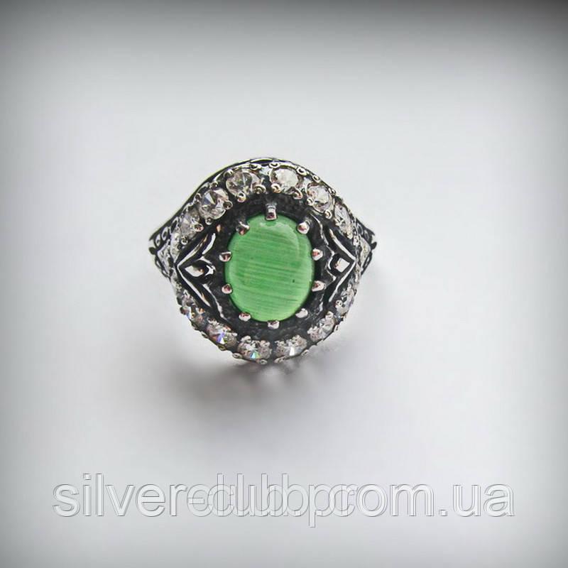 a18177307348 1013 Серебряное кольцо Чалма с хризопразом 925 пробы - Интернет-магазин  серебряных изделий от украинского