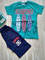 Костюм футболка +шорти