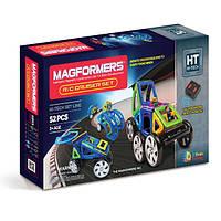 Магнитный конструктор Суперкар, 52 элемента, серия Высокие технологии, Magformers