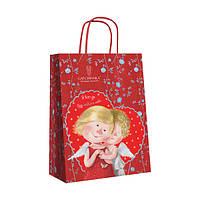 """Пакет подарочный Gapchinska """"Я всегда буду любить тебя"""", бумажный 18х24см"""