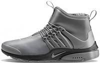 Мужские кроссовки Nike Air Presto Extreme Mid Utility Wolf Grey, найк айр престо