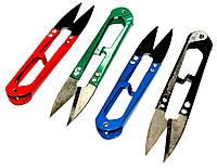 Ножницы швейные (110mm) для обрезки нитки, цветные, фото 1
