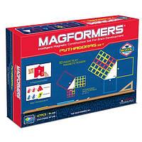 Магнитный конструктор Математический набор, 42 элемента, серия Образование, Magformers