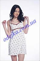 Домашнее платье, сорочка женская LND 099/002 (ELLEN). Коллекция весна-лето 2017! Спешите быть первыми!