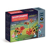 Магнитный конструктор Рептилии, 55 элемента, серия Высокие технологии, Magformers