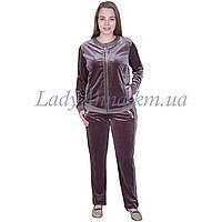 Спортивный костюм женский. велюровый с камнямию Турция