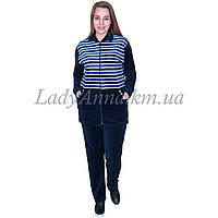 Спортивный костюм женский велюровый .Украина 7012
