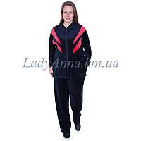 Спортивный костюм женский велюровый .Украина 7013