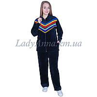 Спортивный костюм велюровый женсуий Украина