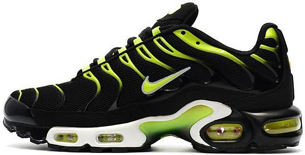 c977c333 Женские Кроссовки Nike Air Max Tn Plus Black/Green — в Категории ...