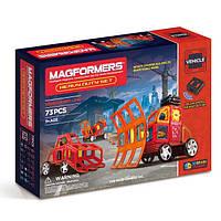 Магнитный конструктор Спецслужбы, 73 элемента, серия Средства передвижения, Magformers