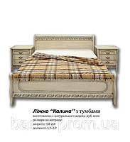 """Спальня """"Калина"""". Мебель для спальни из натурального дерева. Ясень, дуб"""