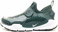 Мужские кроссовки Stone Island x NikeLab Sock Dart Green, найк