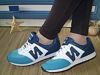 Кроссовки New Balance женские цветные. Размер 38(24см.) Маломерят