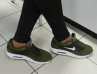 Женские Кроссовки Nike, легкие, в сетку, цвет-Хаки