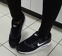 Женские Кроссовки Nike, легкие, в сетку, цвет - Черный