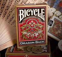 Карты игральные   Bicycle Dragon Gold