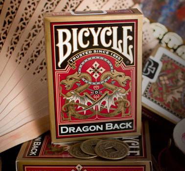 Карты игральные   Bicycle Dragon Gold, фото 2