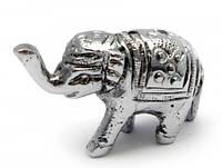 """Подставка под благовония """"Слон"""" """"серебро"""" (4х2,5х1,5 см)"""