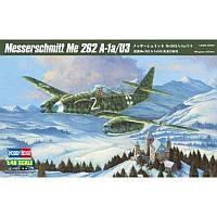 Сборная пластиковая модель самолета Me 262 A-1a/U3 (код 200-266611)