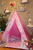 "Детский игровой домик, вигвам, палатка, шатер, шалаш, вігвам, дитяча ігрова палатка, будиночок ""Балерина""."