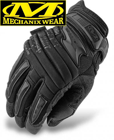 Тактические перчатки MECHANIX M-PACT 2 COVERT GLOVES BLACK