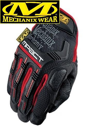 Тактические перчатки MECHANIX M-PACT IMPACT GLOVES RED