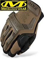 Тактические перчатки MECHANIX M-PACT GLOVES COYOTE-BLACK