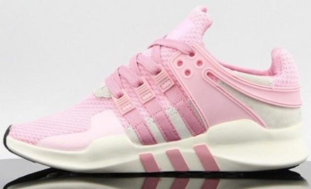 "Женские кроссовки Adidas EQT Running Support ADV ""Pink/White"""
