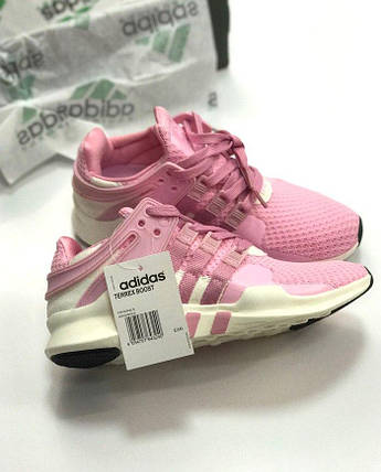 "Женские кроссовки Adidas EQT Running Support ADV ""Pink/White"", фото 2"