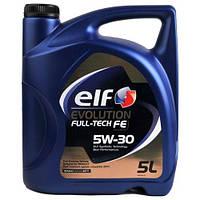 Масло моторное ELF EVOLUTION FULL TECH FE 5W30 5L