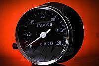Спидометр Альфа 120 км/ч для приборов хром