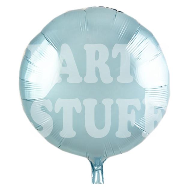 шарик фольгированный голубой