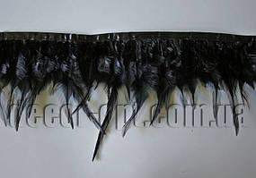 Перо-юбка черная 9-15см/45-47cм