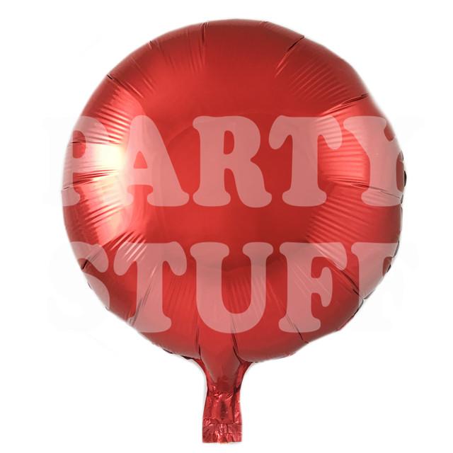 шарик фольгированный красный