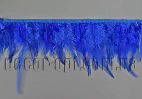 Перо-юбка синяя 8-13см/45-47см
