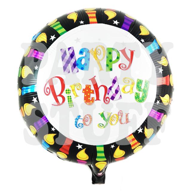 фольгированный шар день рождения