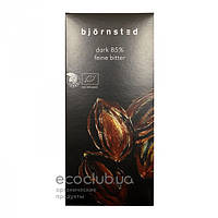 Шоколад темный органический 85% Björnsted 100г