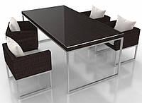 """Комплект мебели из искусственного ротанга UKR- GRANDE М- """"Colour Rattan"""" (Алюминий)"""