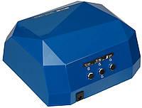 Лампа для сушки гель-лака MirAks MA-3618 Blue (S) (Синий/CCFL+LED/36W (12W CCFL+24W LED)/сенсорная)