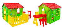Детский садовый домик Garden House столик + тераса