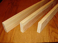 Брус дерев'яний 100 х 25 мм  Брус дерев'яний 100 х 25 мм (4,5м)