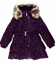 Зимнее пальто для девочки Lenne REGINA 17328/6777 р.128