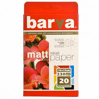 Бумага Barva Matte 230г/м, 10x15, 20л. (IP-A230-205)