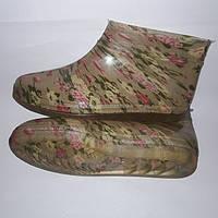 Полуботинок женский силиконовый