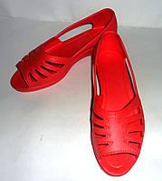 Женские туфли(лодочка) оптом ЕВА(красные)