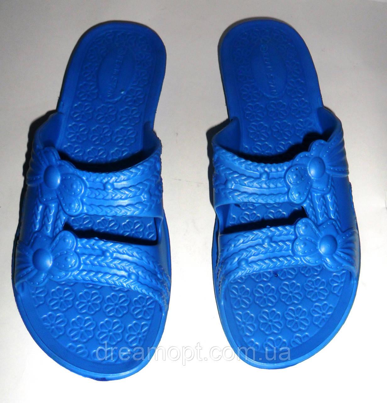 Женские сланцы ЕВА (синие)